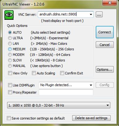 VSFTPD és X11vnc - Ultra VNC