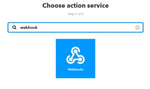 IFTTT - Webhook